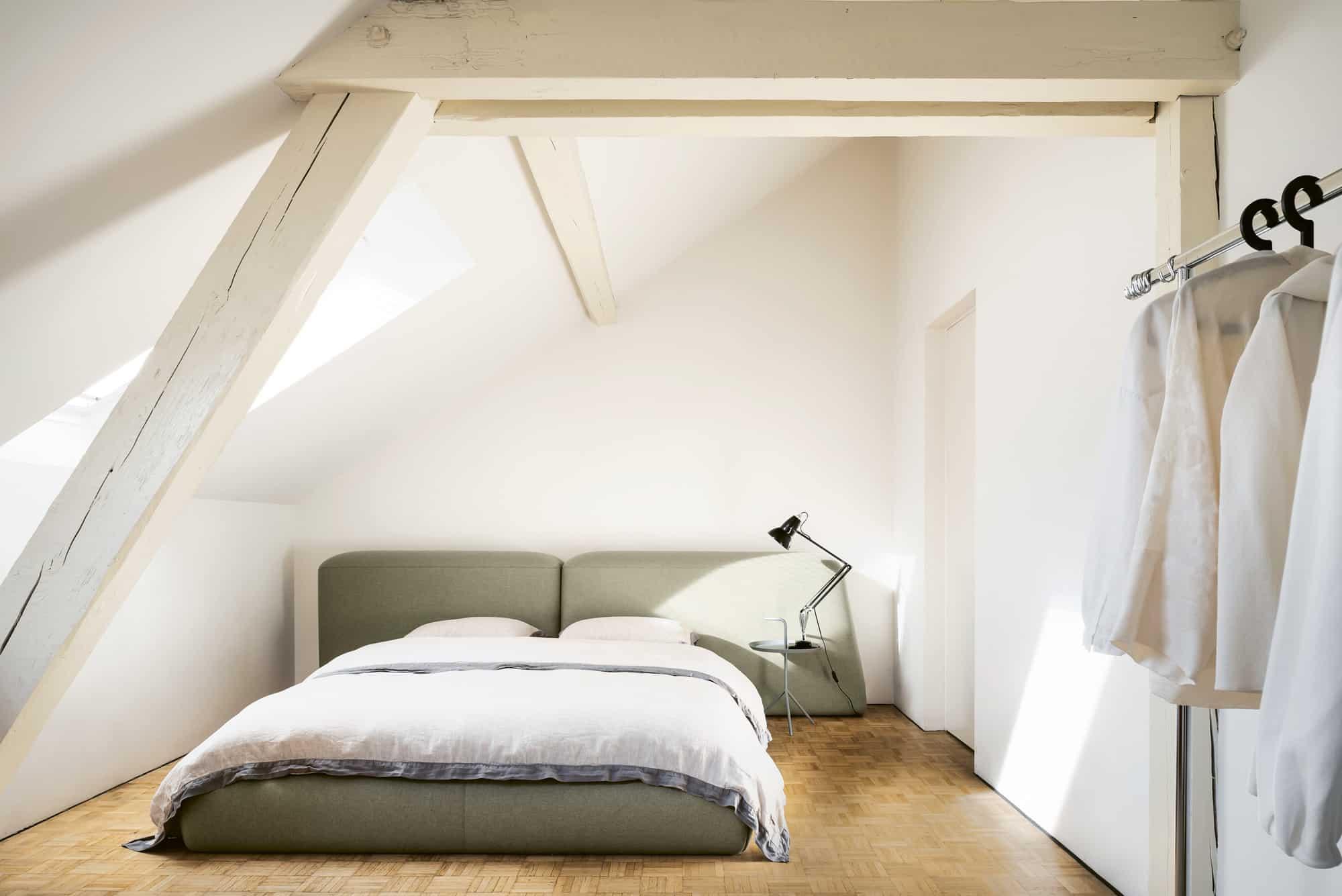 Schlafzimmer von Jurgita und Gian von Naughty Linen
